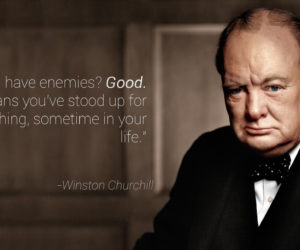 Why it's OK to Have Enemies