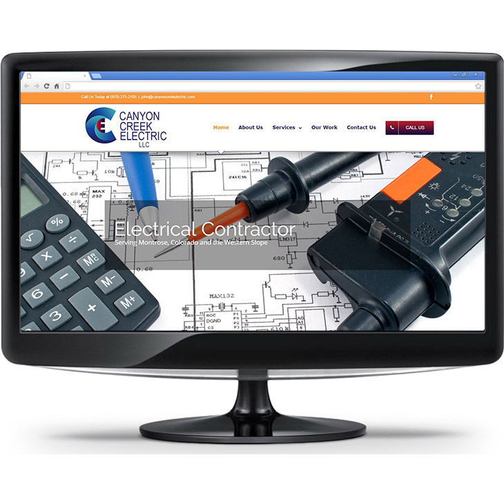 Canyon Creek Electric's new website