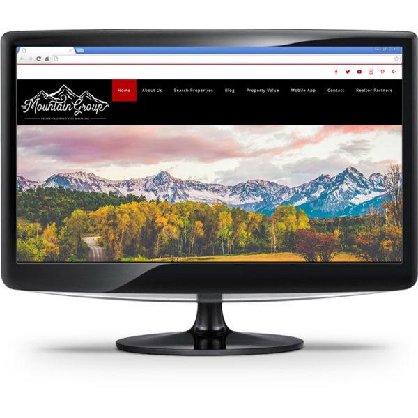 The Mountain Group website design