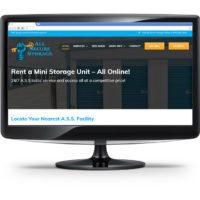 Screenshot of All Secure Storage Website