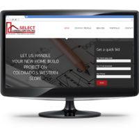 Screenshot of Select General Contracting Website