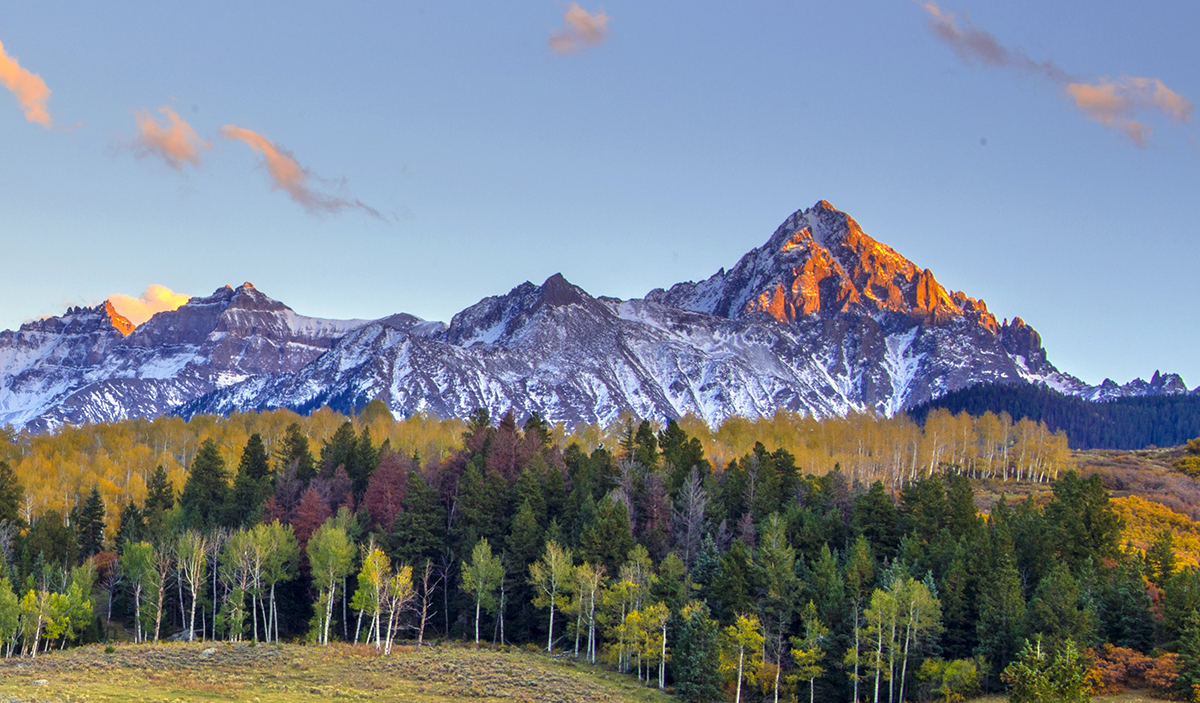 Mount Sneffels in the San Juan Mountains