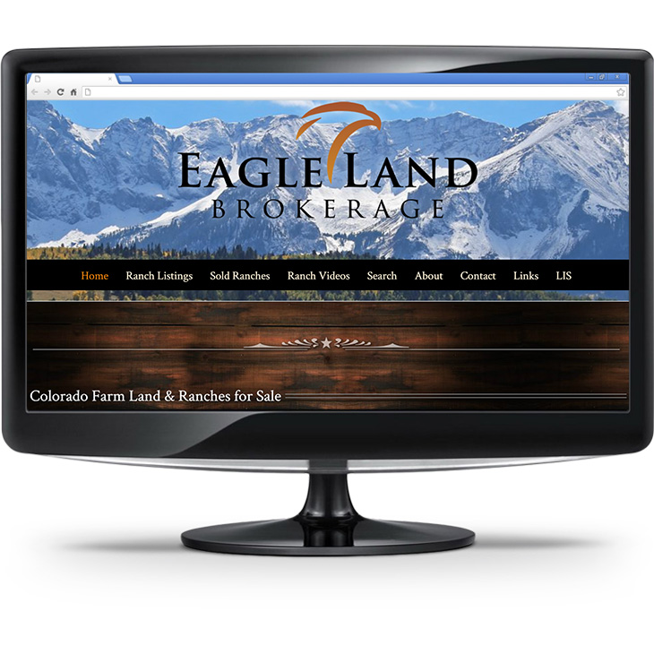 Eagle Land Brokerage - Website Screenshot