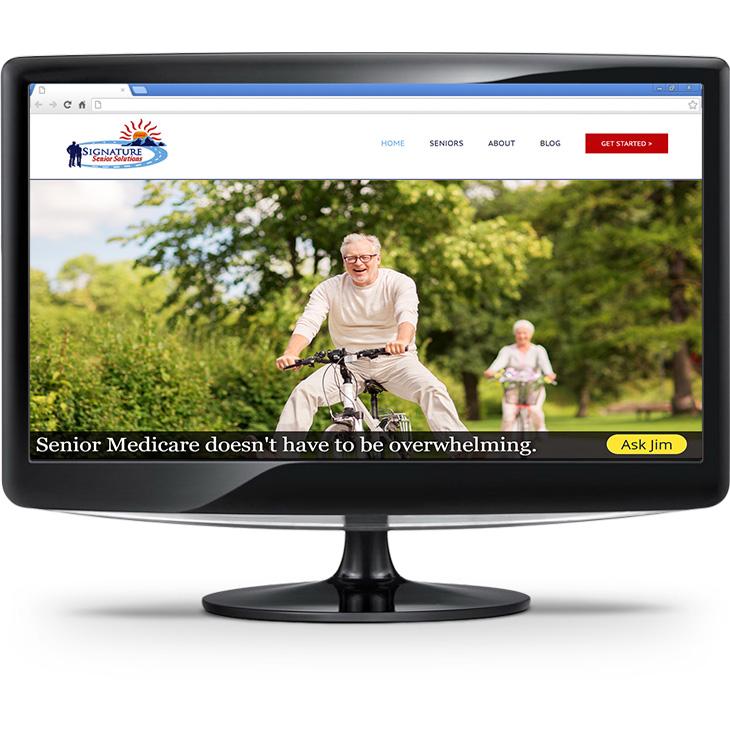 Signature Senior Solutions Website Screenshot