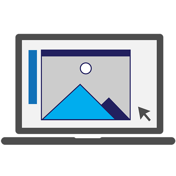 Professional Graphic Design Services Icon