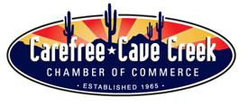 Carefree Cave Creek Chamber of Commerce logo